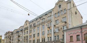 Здание в Басманном районе отремонтируют. Фото: сайт мэра Москвы