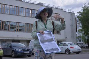 Авторскую экскурсию подготовили сотрудники Дома-музея Марины Цветаевой. Фото: Анна Малакмадзе, «Вечерняя Москва»