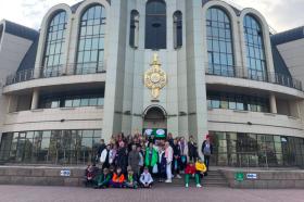 Ученики школы №1234 посетили музей в Туле. Фото с сайта школы